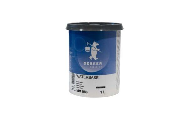 DEBEER WATERBASE MM 986 METALLIC BRIGHT 1 lt