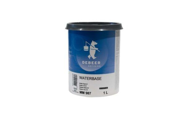 DEBEER WATERBASE MM 987 METALLIC BRIGHT NF 1 lt