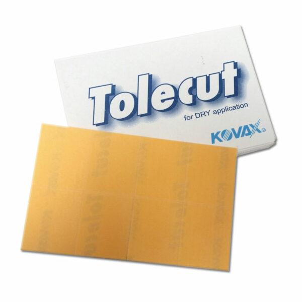 KOVAX FOGLI ABRASIVI TOLECUT ARANCIO 29 X 35 P1200 25 PEZZI
