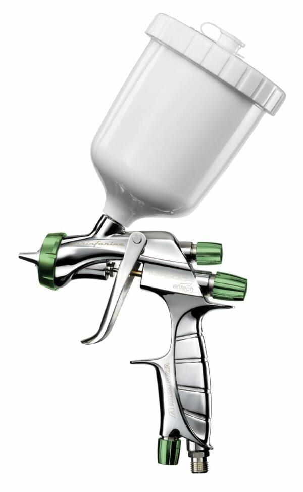 Pistola a spruzzo Iwata LS400 HVLP Pininfarina verniciatura 1.3 mm in valigetta