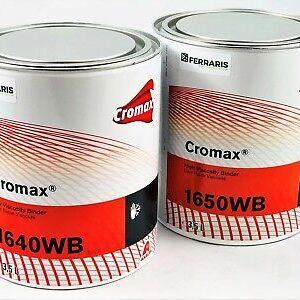 CROMAX RESINE W1640 E W1650 PER BASI ALL'ACQUA 2 x 3,5 LT