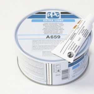 PPG A659 STUCCO EXTRA LIGHT BEIGE PADELLA KG 1