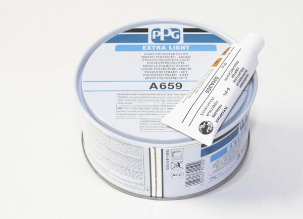 PPG A659 STUCCO EXTRA LIGHT BEIGE PADELLA KG 1