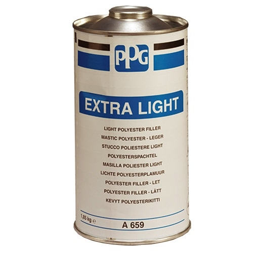 PPG A659 STUCCO EXTRA LIGHT BEIGE CARTUCCIA KG 1,85 CON CATALIZZATORE