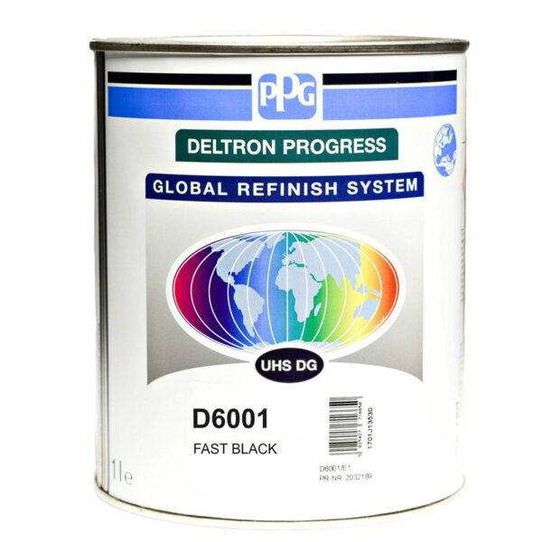 PPG D6001 DELTRON UHS BLACK LITRI 1