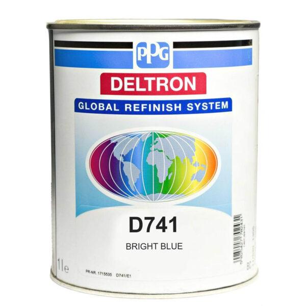 PPG D741 DELTRON BLUE LITRI 1