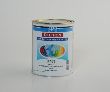 PPG D753 DELTRON BC WHITE LITRI 1