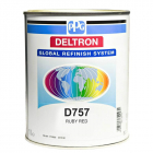 PPG D757 DELTRON BC RUBY RED LITRI 1
