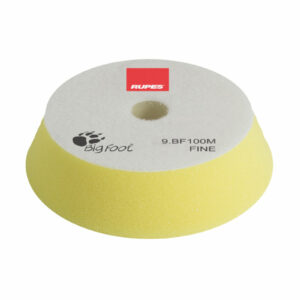 RUPES 9.BF100M TAMPONE IN SPUGNA FINE GIALLO DIAMETRO 80/100 mm