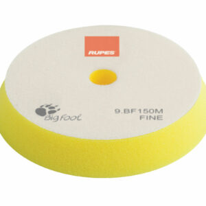 RUPES 9.BF150M TAMPONE IN SPUGNA FINE GIALLO DIAMETRO 130/150 mm