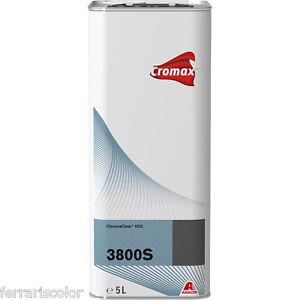 CROMAX S3800 TRASPARENTE ALTO SOLIDO LITRI 5