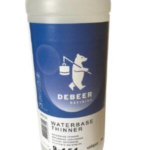 DEBEER 9-151 WATERBASE 900+ SERIES DILUENTE 1 lt