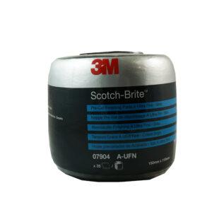 3M 7904 ROTOLO SCOTCH BRITE CLEAN AND FINISHING GRIGIO