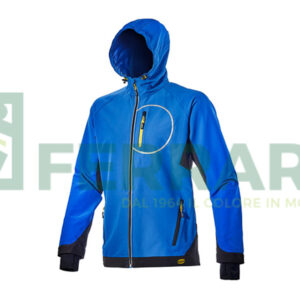 DIADORA JACKET TRAIL ISO MICRO BLUE TG M