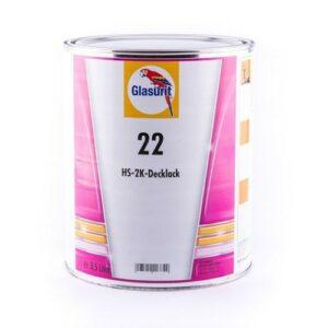 GLASURIT TINTA BASE 22-M 326 ROSSO BRILANTE 3,5 lt