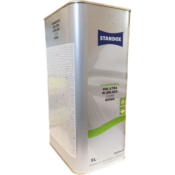 STANDOX K9560 TRASPARENTE VOC EXTRA 5 lt