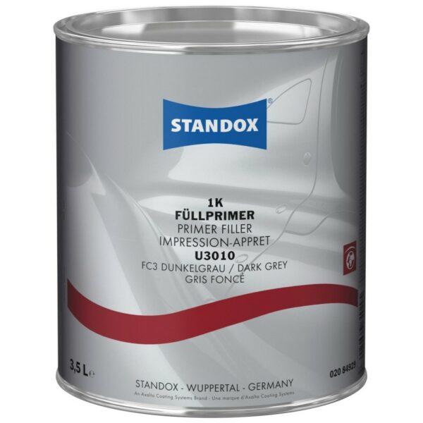 STANDOX U3010 FONDO 1K FILLER GRIGIO SCURO 3,5 LT