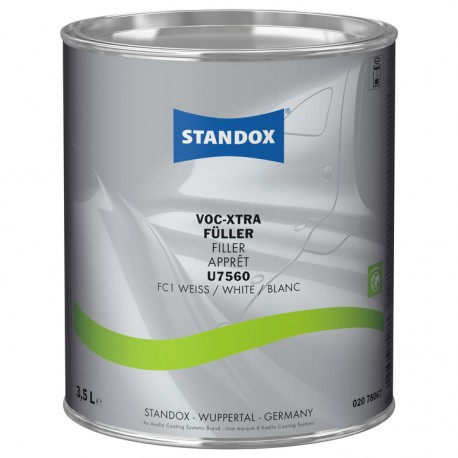 STANDOX FONDO VOC SYSTEM FILLER U7560 BIANCO 3,5 lt