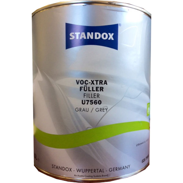STANDOX FONDO VOC XTRA FILLER GRIGIO U7560 3,5 lt