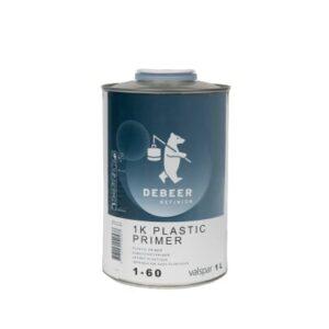 DEBEER 1K PLASTIC PRIMER 1-60 LT 1
