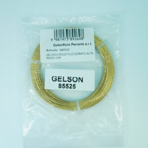 GELSON 85525 FILO DORATO AD ALTA RESISTENZA 22 M