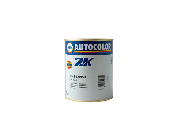 NEXA AUTOCOLOR P471-9950 BASE OPACA JET BLACK 1 lt