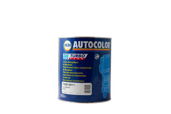 NEXA AUTOCOLOR P498-9911 BASE OPACA BRIGHT BLUE 3,5 lt