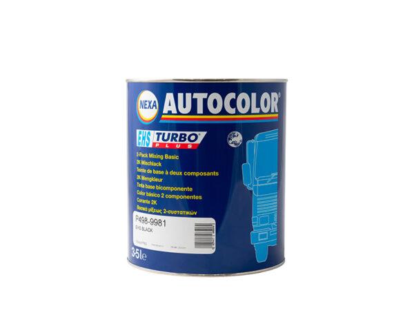 NEXA AUTOCOLOR P498-9981 BASE OPACA BLACK 3,5 lt