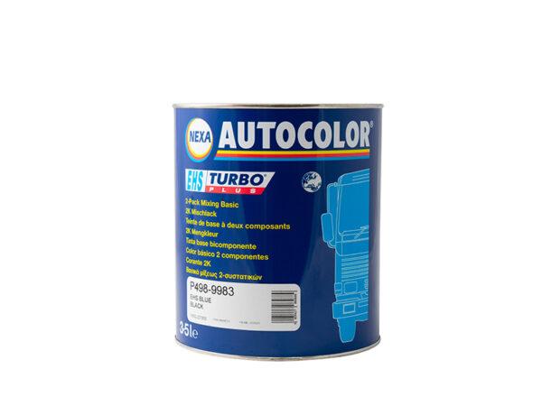 NEXA AUTOCOLOR P498-9983 BASE OPACA BLUE BLACK 3,5 lt