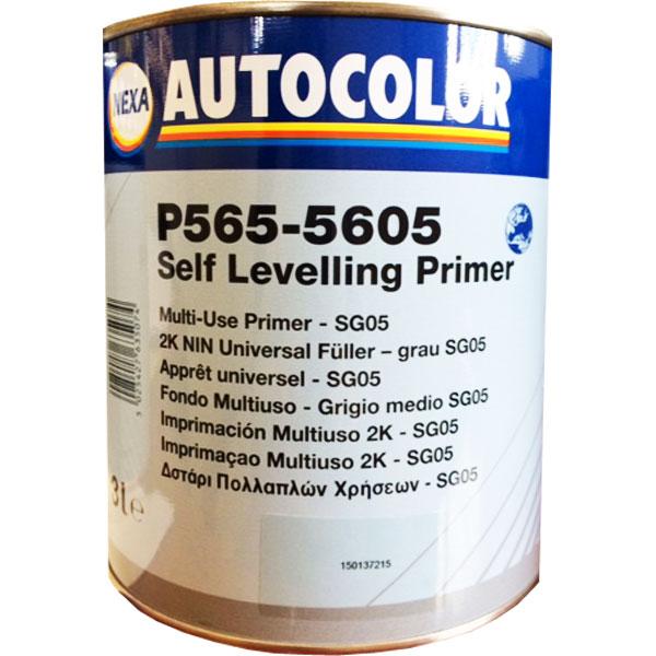 NEXA AUTOCOLOR P565-5605 FONDO MULTIUSO GRIGIO MEDIO SG05 3 lt