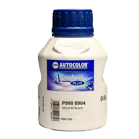 NEXA AUTOCOLOR P990-8904 TINTA BASE REDUCED BLACK 0,5 lt