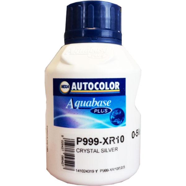 NEXA AUTOCOLOR P999-XR10 TINTA BASE CRYSTAL SILVER 0,5 lt