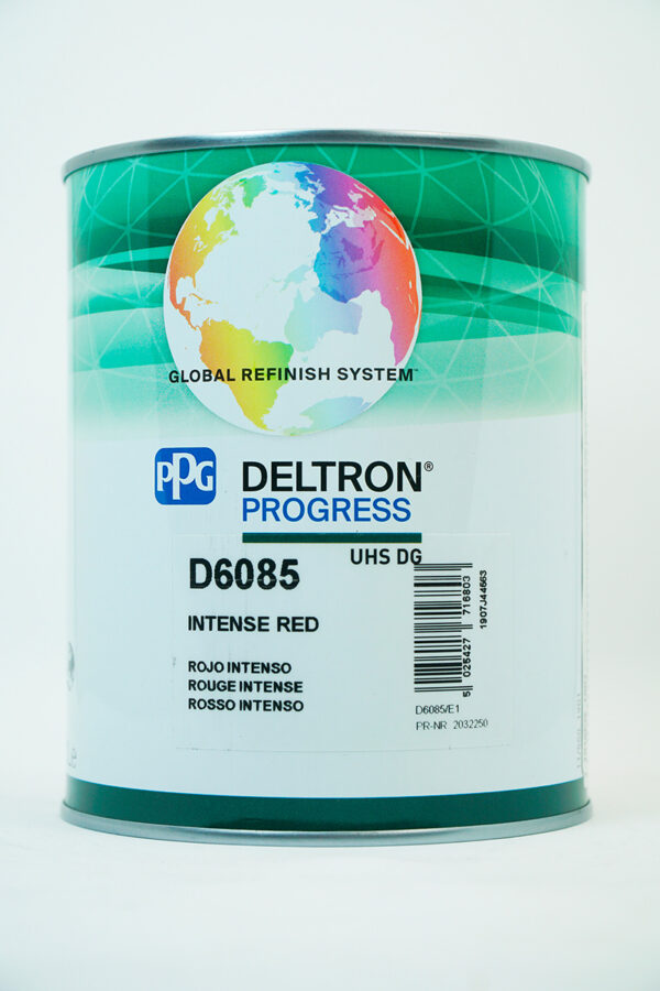 PPG D6085 DELTRON UHS INTENSE RED LITRI 1
