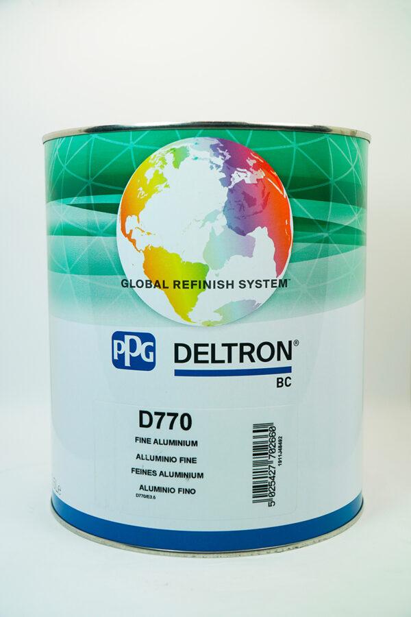 PPG D770 DELTRON BC FINE ALUMINIUM LITRI 3.5