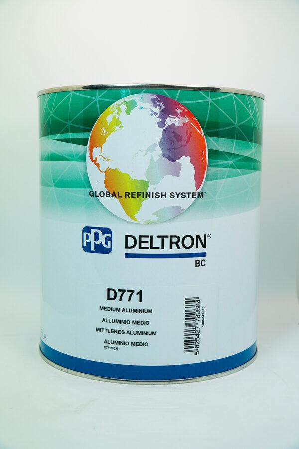 PPG D771 DELTRON BC MEDIUM ALUMINIUM LITRI 3.5