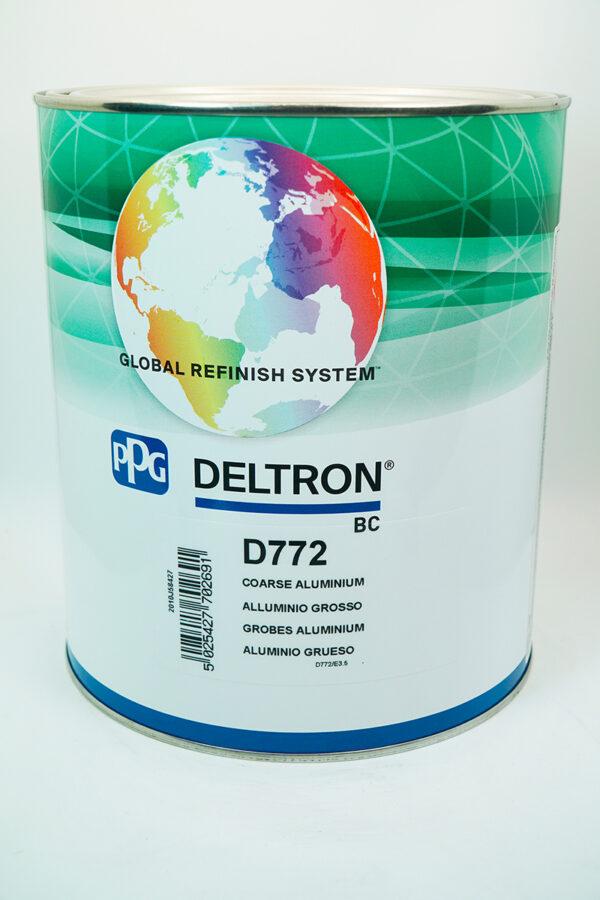 PPG D772 DELTRON BC COARSE ALUMINIUM LITRI 3.5