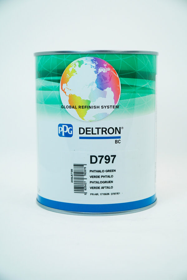 PPG D797 DELTRON BC PHTHALO GREEN LITRI 1