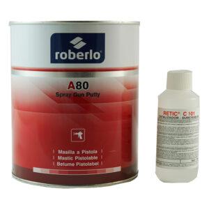 ROBERLO 65674 A-80 STUCCO POLIESTERE A STUCCO 1,5 kg
