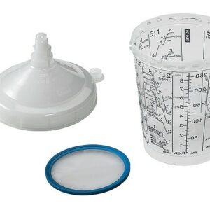 SATA 1010389 RPS tazze monouso usa e getta da 300 ml con filtro 125 µm vernice 10 pezzi