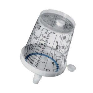 SATA 1010438 RPS tazze monouso usa e getta da 600 ml con filtro 125 µm vernice 10 pezzi