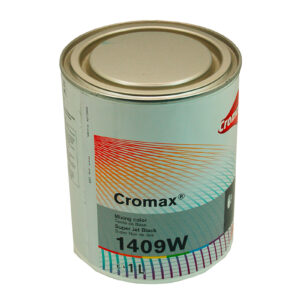 CROMAX 1409W BASE OPACA SUPER JET BLACK LITRI 1
