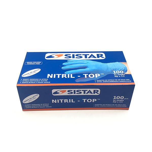 SISTAR 553.2751.XL GUANTI NITRIL-TOP TAGLIA XL PEZZI 100